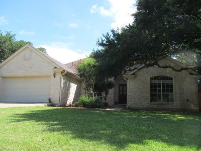Georgetown Single Family Home Pending - Taking Backups: 2919 Addie Ln