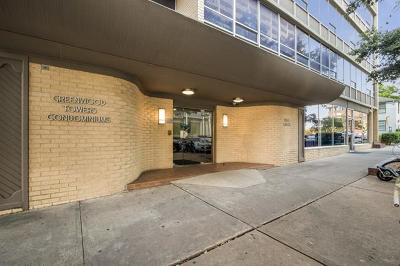 Condo/Townhouse Pending - Taking Backups: 1800 Lavaca St #A-208