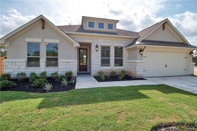 Leander Single Family Home For Sale: 2444 Deering Creek Ct