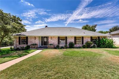 Austin Single Family Home Active Contingent: 9440 Spring Hollow Dr