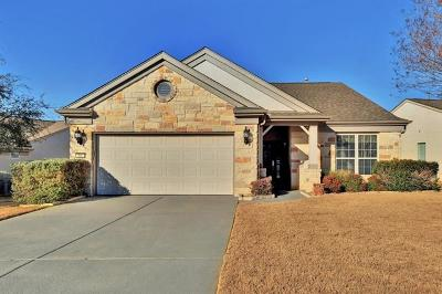 Sun City Single Family Home Pending - Taking Backups: 300 Lake Sommerville Trl