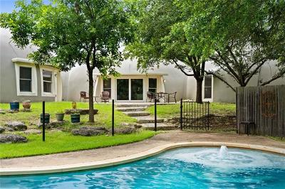 Travis County Single Family Home Pending - Taking Backups: 8803 Deer Haven Rd