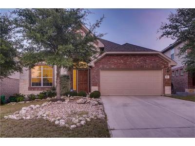 Cedar Park Single Family Home For Sale: 518 Cameron Cv
