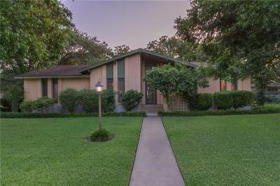 Single Family Home For Sale: 1610 Pecan St