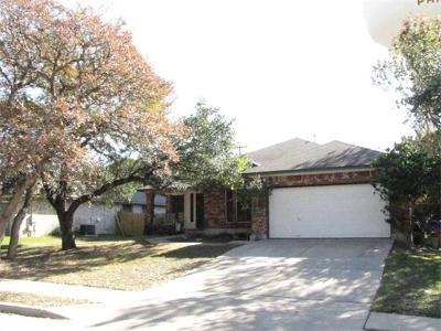 Cedar Park Single Family Home For Sale: 1308 Wood Creek Dr