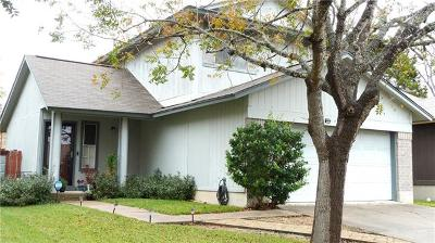 Hays County, Travis County, Williamson County Single Family Home Pending - Taking Backups: 10614 Marias River Dr