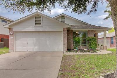 Round Rock Single Family Home For Sale: 2109 Jester Farms