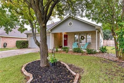 Cedar Park Single Family Home For Sale: 1317 Dove Haven Loop