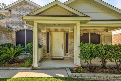 Cedar Park Single Family Home For Sale: 2324 Zoa Dr