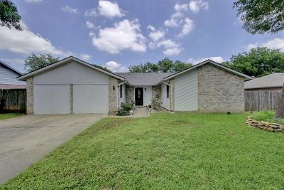 Round Rock Single Family Home For Sale: 700 Andover Dr