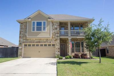 Round Rock Single Family Home For Sale: 121 Snowdrift Trl