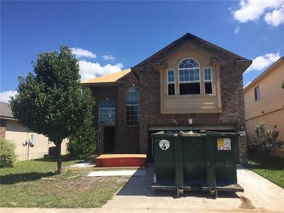 Killeen TX Single Family Home For Sale: $89,500