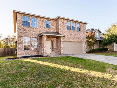Round Rock Single Family Home For Sale: 2814 Shadowpoint Cv