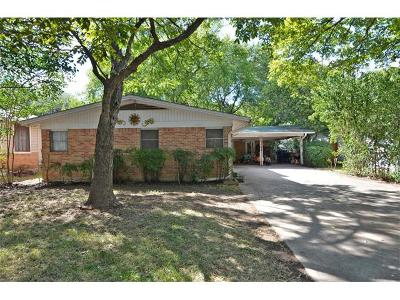Travis County, Williamson County Single Family Home For Sale: 4504 Bull Creek Rd
