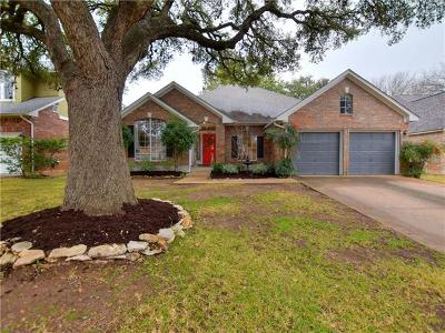 Hays County, Travis County, Williamson County Single Family Home For Sale: 8000 Henry Kinney Row