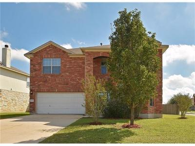 Buda Single Family Home For Sale: 781 Dark Horse Ln