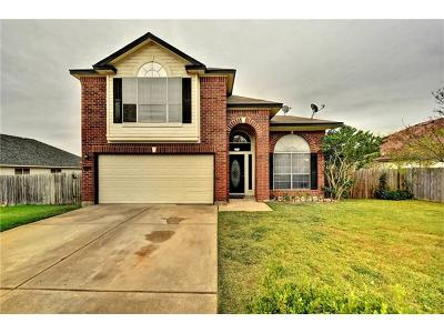 Round Rock Single Family Home For Sale: 2729 Settlement Dr