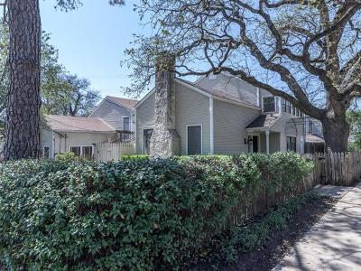 Austin Condo/Townhouse For Sale: 2616 Jefferson St #A