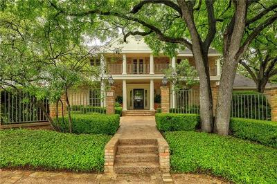 Austin Single Family Home For Sale: 3405 Timberwood Cir