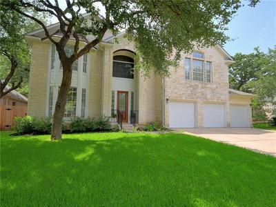 Austin Single Family Home Pending - Taking Backups: 8005 Manitou Springs Ct