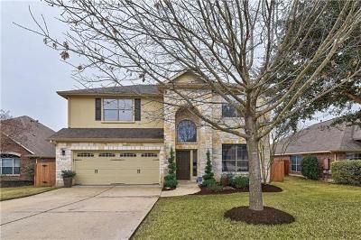 Cedar Park Single Family Home For Sale: 1710 Harvest Bend Ln