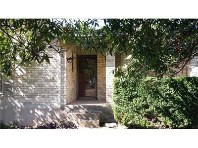 Georgetown Single Family Home For Sale: 1102 N Austin Ave