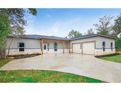Cedar Creek Single Family Home For Sale: 147 Deep Woods Ct