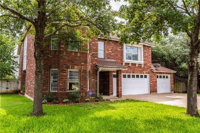 Cedar Park Single Family Home For Sale: 2100 Pena Blanca Dr