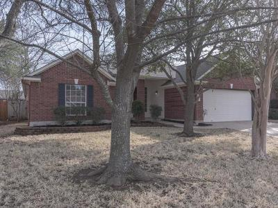 Cedar Park Single Family Home For Sale: 1100 Old Mill Rd