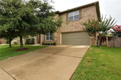 Round Rock Single Family Home For Sale: 710 Wood Mesa Ct