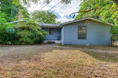 Austin Single Family Home Pending - Taking Backups: 8308 Peaceful Hill Ln