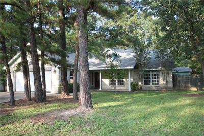 Bastrop Single Family Home For Sale: 119 Pine View Loop