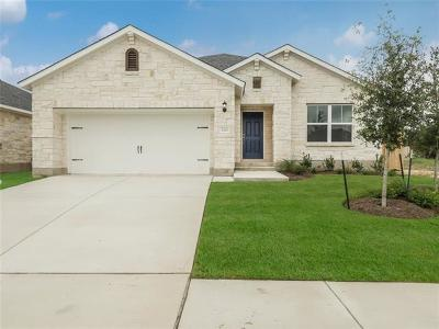 Leander Single Family Home For Sale: 2421 Burberry Ln