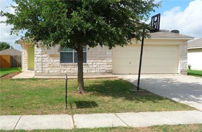 Hutto Single Family Home For Sale: 325 Brown St