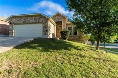 Round Rock Single Family Home For Sale: 1921 Rachel Ln