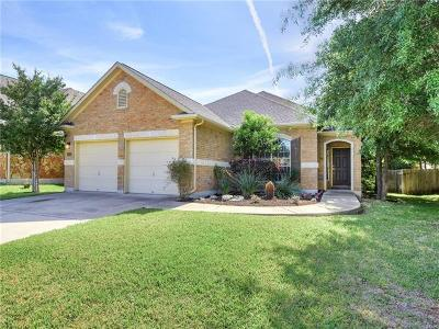 Cedar Park Single Family Home For Sale: 600 Arrowhead Trl