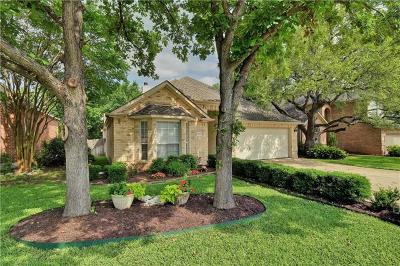 Round Rock Single Family Home Pending - Taking Backups: 17800 Box Canyon Ter