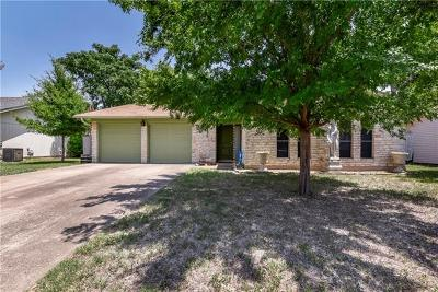 Travis County Single Family Home Pending - Taking Backups: 12911 Irongate Ave