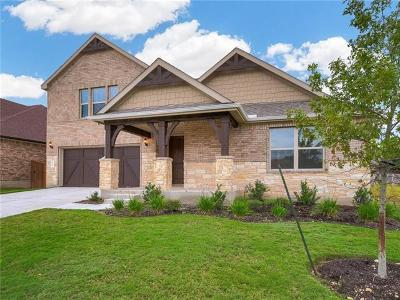 Leander Single Family Home For Sale: 1605 Carmine Dr