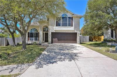 Round Rock Single Family Home For Sale: 17708 Fort Leaton Dr
