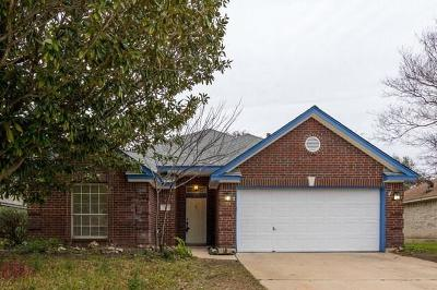 Cedar Park TX Single Family Home For Sale: $275,000