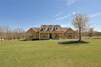 Cedar Creek TX Single Family Home For Sale: $540,000