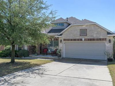 Leander Single Family Home For Sale: 1205 Golden Bridle Trl