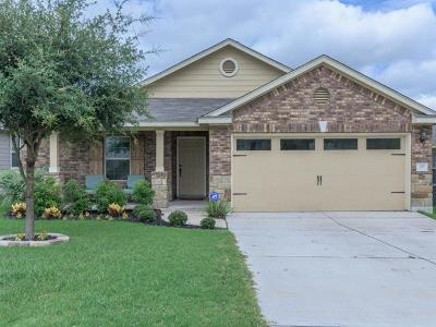 Hutto Single Family Home For Sale: 211 Fistral Dr