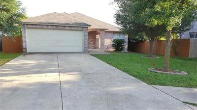 Round Rock Single Family Home For Sale: 1005 Howell Terrace Pl