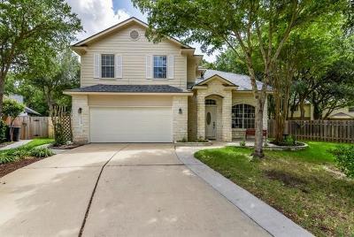 Round Rock Single Family Home Pending - Taking Backups: 3108 Bent Tree Cv