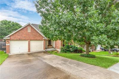 Round Rock Single Family Home For Sale: 3723 Bird House Dr