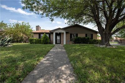 Killeen Single Family Home For Sale: 2607 Lohse Rd