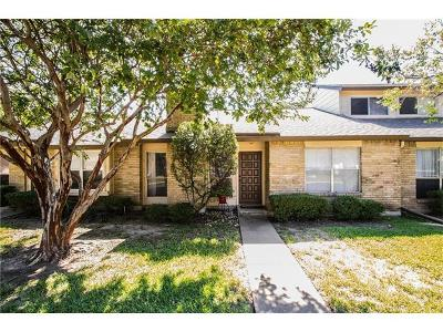 Travis County Condo/Townhouse For Sale: 8221 Summer Side Dr #177