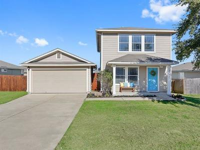 Manor Single Family Home Pending - Taking Backups: 18332 Belfry Pass